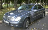 Rent a car in Moscow, Mercedes Business class