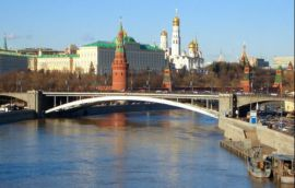 Transfer to downtown Moscow Russia