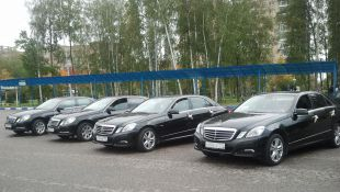 Rent a car in Moscow, Mercedes W212