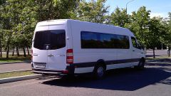 Minibus Rental in Moscow Frightliner Sprinter