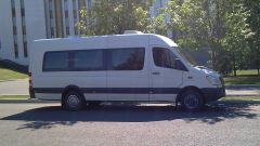 Minibus Rental in Moscow Dodge Sprinter
