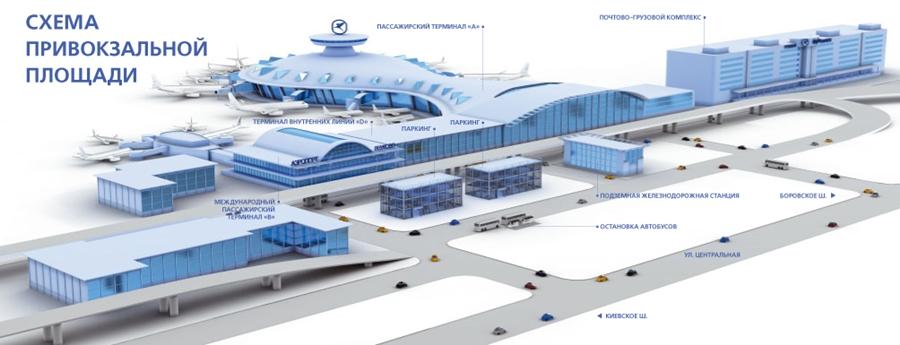 нового терминала А. В